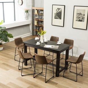 Bamey 7 Piece Counter Height Dining Set
