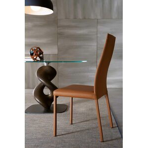 Bali Eco-Leather Upholstered Side Chair by YumanMod