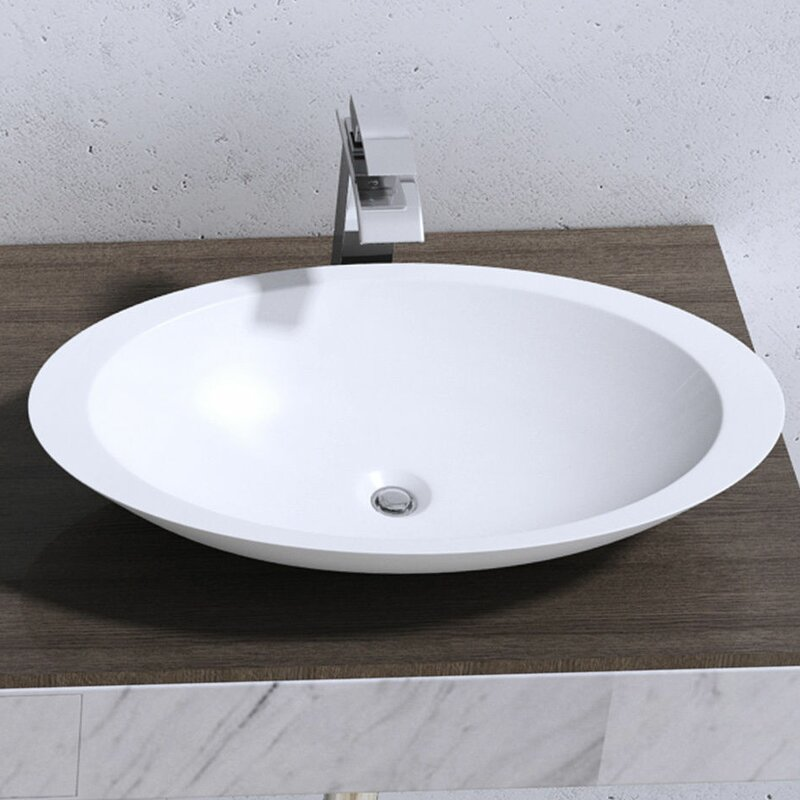 Belfry Bathroom Colossum 35cm Countertop Basin Reviews Wayfaircouk