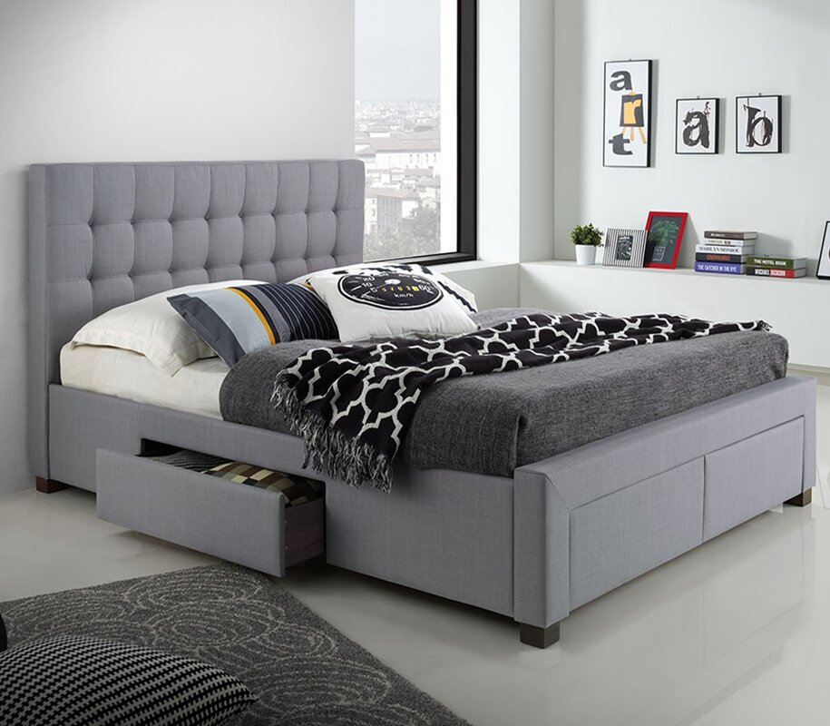 gettinger queen platform bed