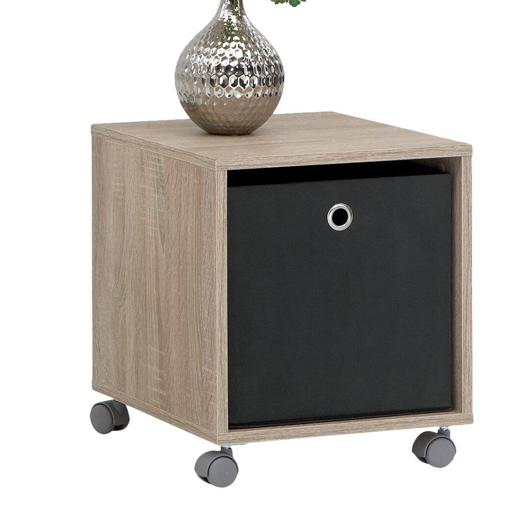 fmd beistelltisch elisa mit stauraum bewertungen. Black Bedroom Furniture Sets. Home Design Ideas