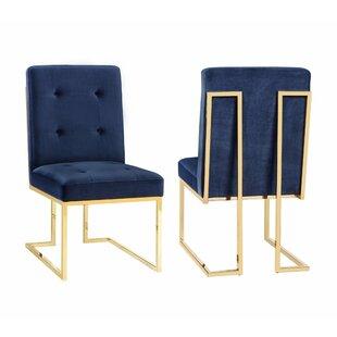 Sherri Velvet Side Chair (Set of 2)