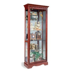 Andante Lighted Curio Cabinet by Philip R..