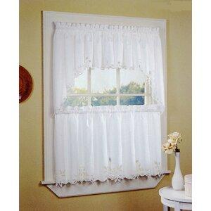 Battenburg Tailored Kitchen Curtain