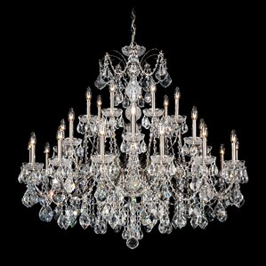 century 28light crystal chandelier - Schonbek Chandelier