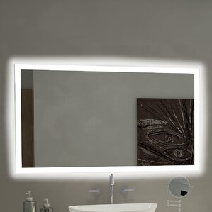 Rectangle Backlit Bathroom Vanity Wall Mirror