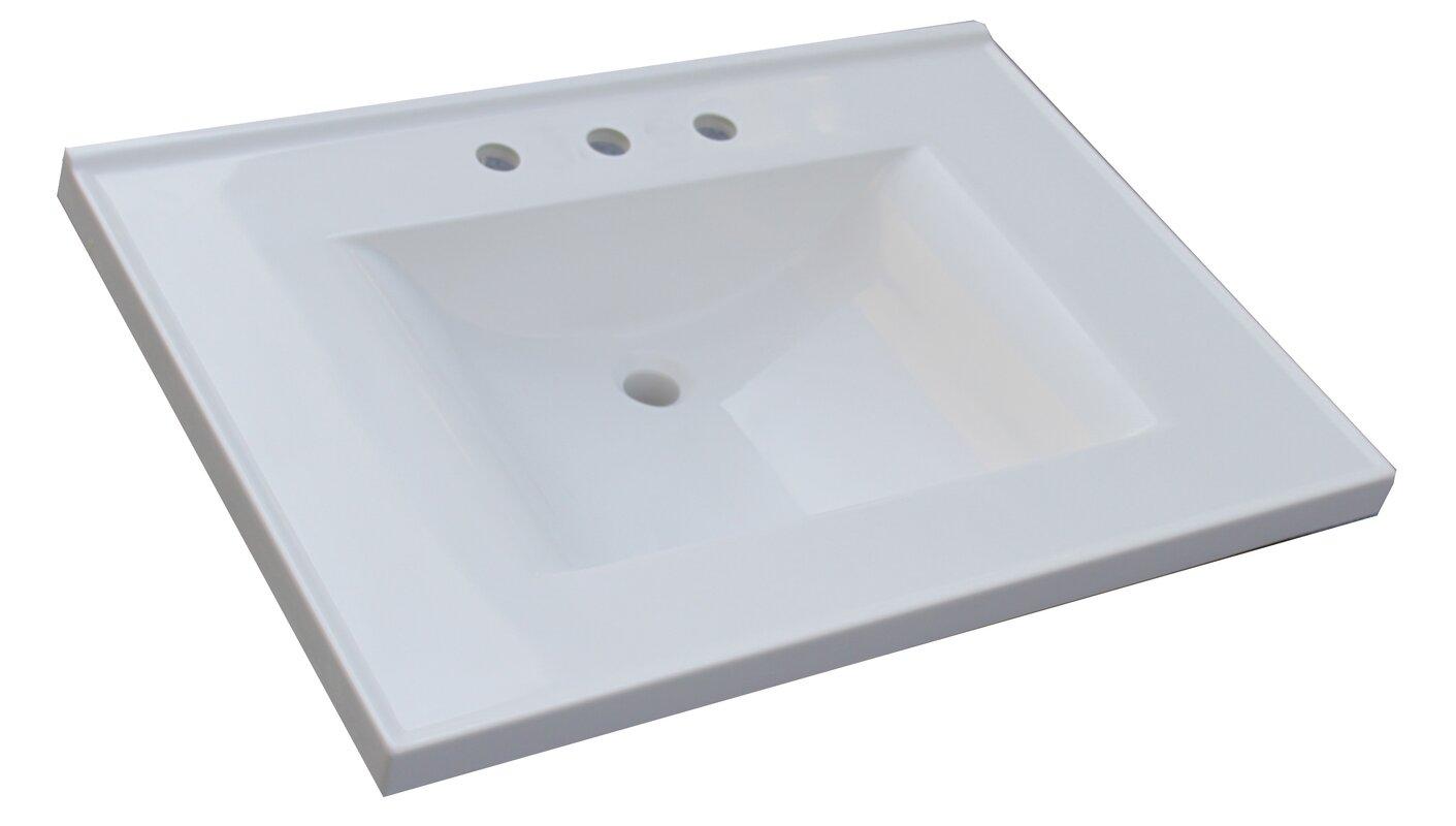 "Sagehill Premier 31"" Single Bathroom Vanity Top & Reviews ..."