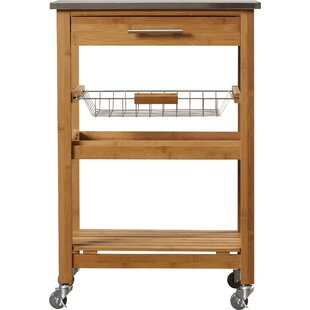 Delicieux Arbor Oaks Kitchen Cart With Stainless Steel Top