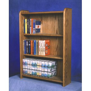 300 Series 120 DVD Multimedia Storage Rack by Wood Shed
