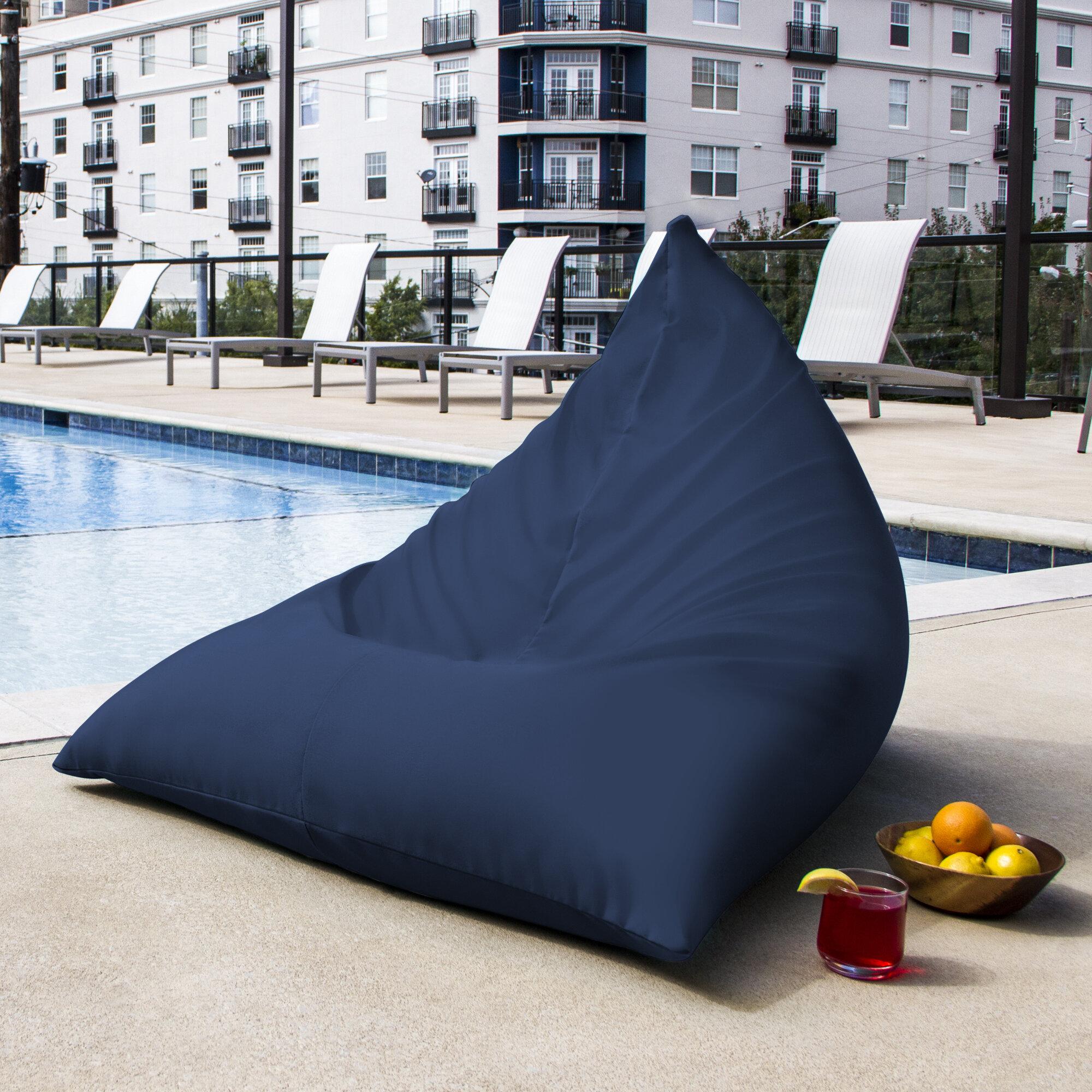 Jaxx Twist Outdoor Bean Bag Chair U0026 Reviews   Wayfair