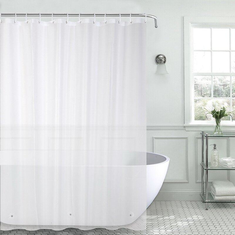 Christi Heavyweight 8 Gauge 100 PEVA Shower Curtain