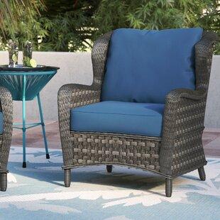 Marvelous Wicker Lounge Chair Wayfair Machost Co Dining Chair Design Ideas Machostcouk