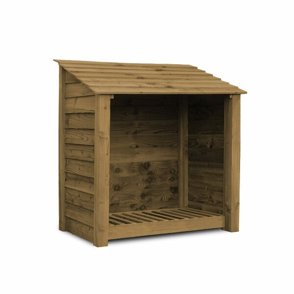 Dcor Design Greetham 4 Ft W X 3 Ft D Wood Log Store