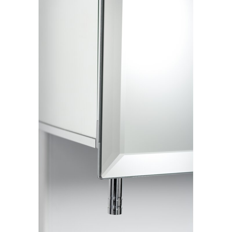 24 X 30 Recessed Or Surface Mount Frameless Medicine Cabinet With 2 Adjule Shelves