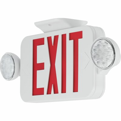 save to idea board exit sign combo