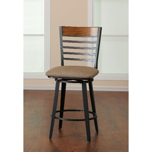Fountain Swivel Bar Stool by Simmons Case..