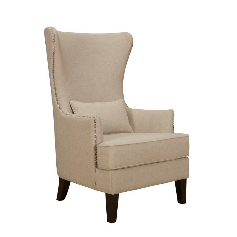 Alcott Hill Cavender Wingback Chair Amp Reviews Wayfair