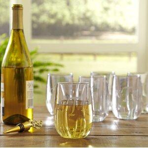 Monogrammed Tritanu2122 11.5 Oz. Stemless Wine Glass (Set of 6)