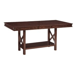 Paige Rectangular Counter Height Extendable Dining Table by Darby Home Co