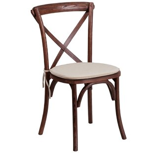 St Annes Early American Cross Back Solid Wood Dining Chair