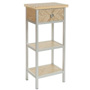 Keaton Low Side Table With Storage