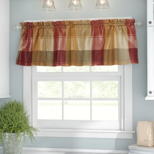 Superieur Check U0026 Plaid Red Valances U0026 Kitchen Curtains Youu0027ll Love In ...
