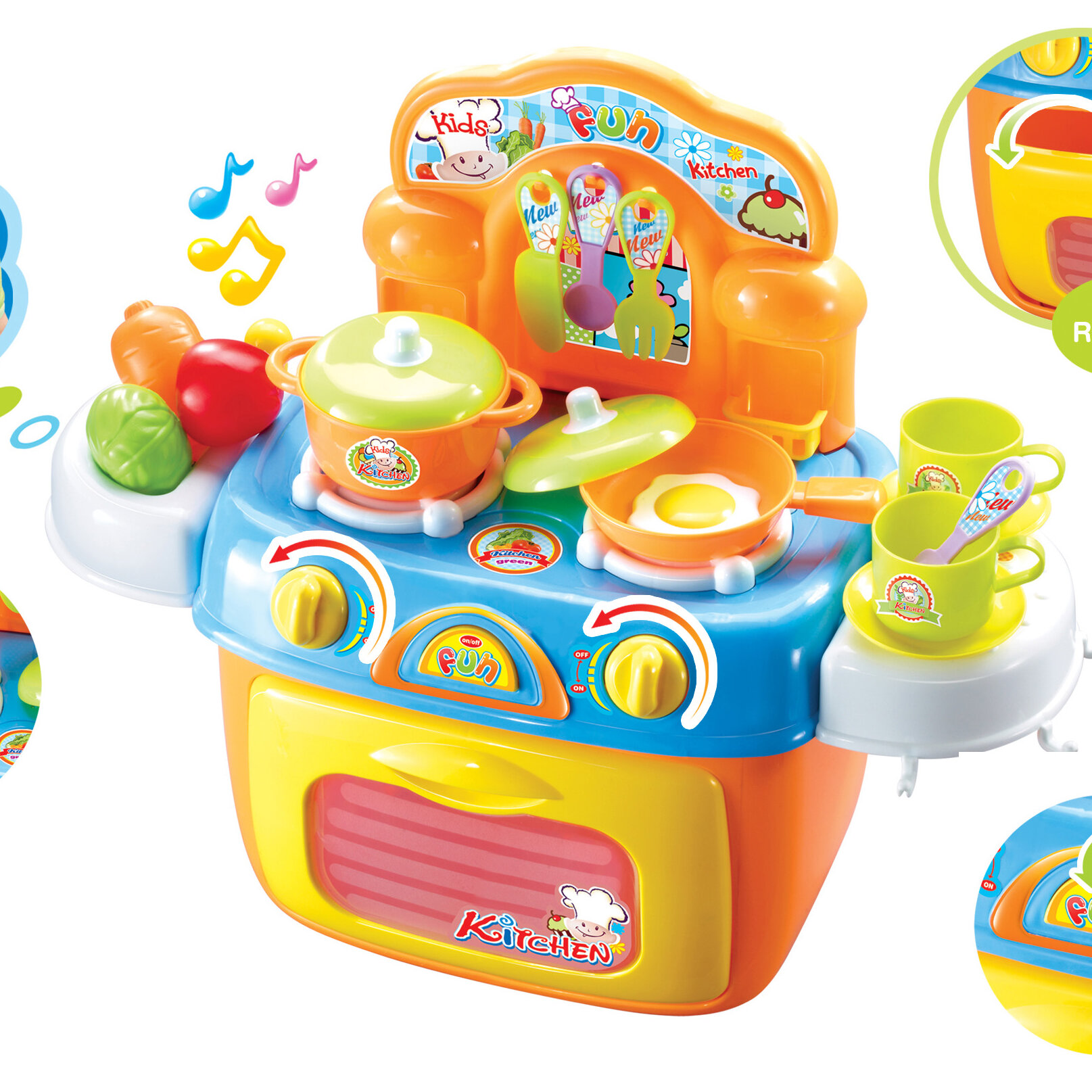 Berry Toys My First Portable Kitchen Play Set & Reviews