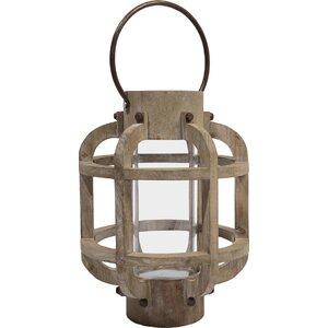 Seaside Treasures Glass Lantern