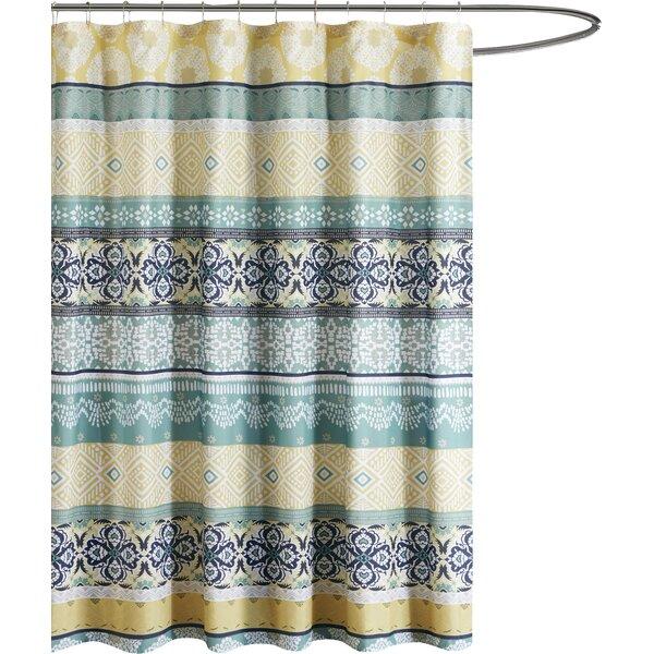 Mistana Bickford Printed Shower Curtain & Reviews   Wayfair