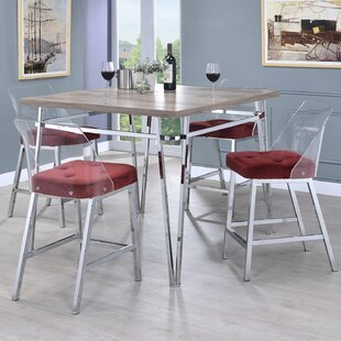 Arkins 5 Piece Counter Height Dining Set