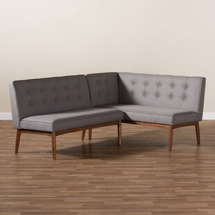 Bopp Upholstered 2-Piece Bench