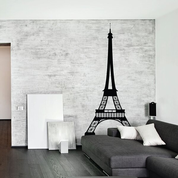 Large Eiffel Tower Wall Decal | Wayfair