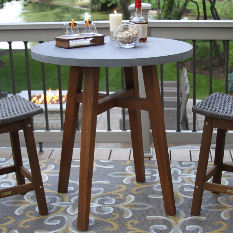 Alcott Hill Jean Round Counter Height Bistro Table