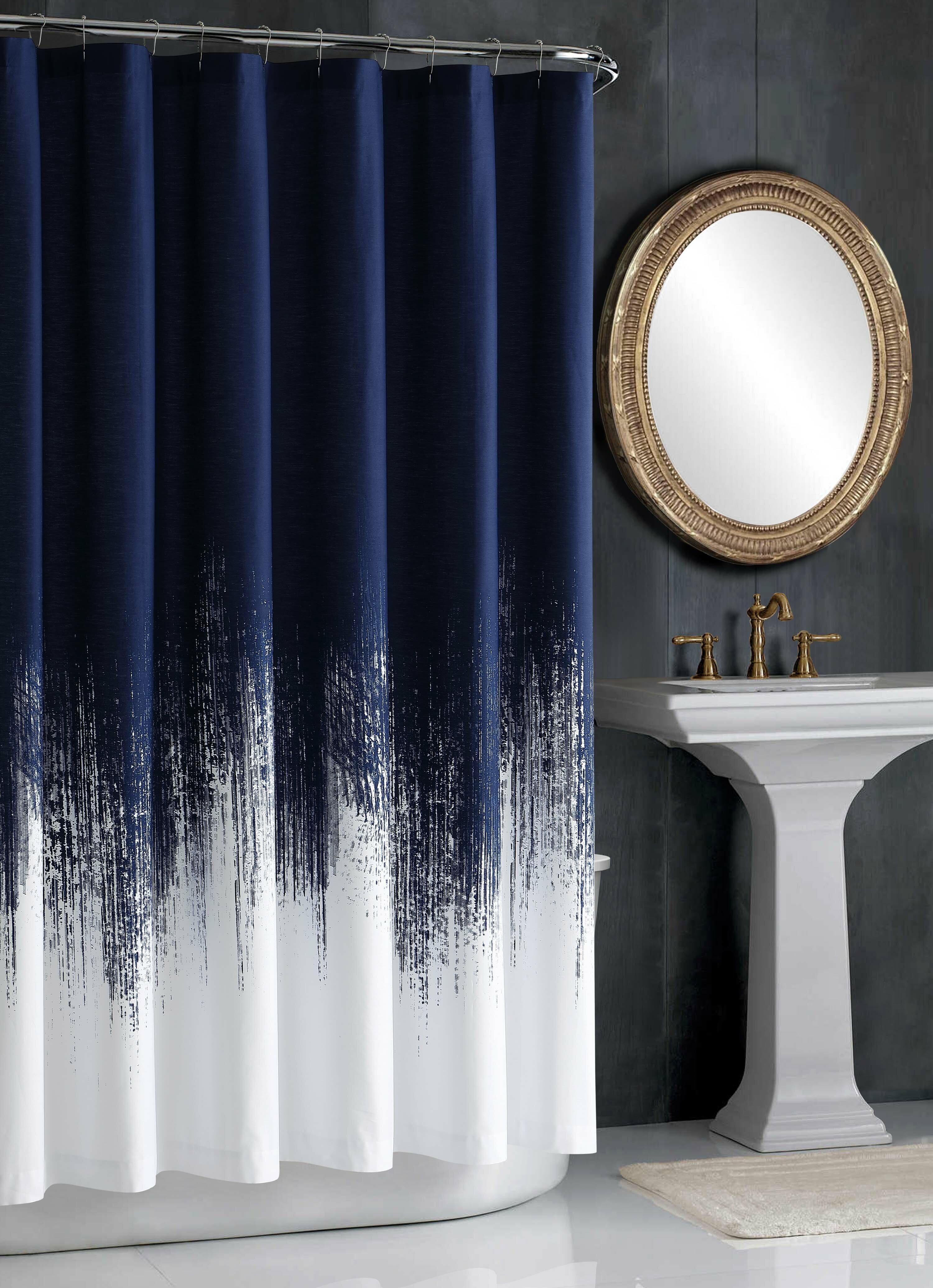 Vince Camuto Lyon 100% Cotton Shower Curtain & Reviews | Wayfair