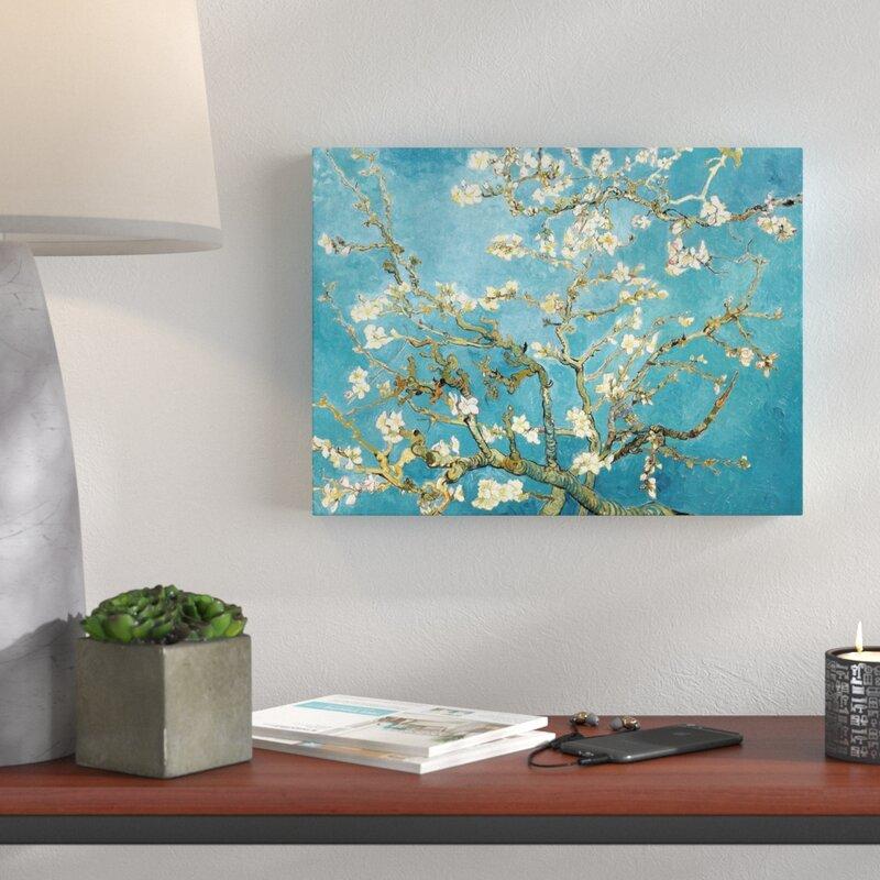 Hokku Designs Almond Blossom By Vincent Van Gogh Painting Print On