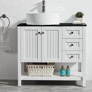 Vanity Bathroom Images 18 inch deep bathroom vanity | wayfair