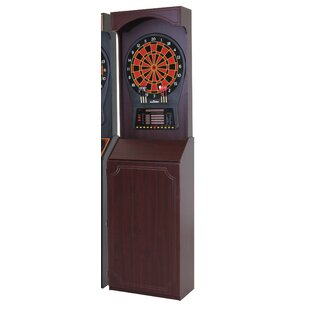 Charmant Cricket Pro 800 Electronic Dartboard Game With Arcade Style Cabinet