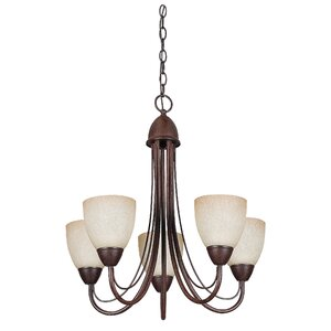 Boutin 5-Light Shaded Chandelier