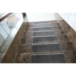carreras gray stair tread set of 7