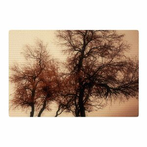 Sylvia Coomes Rust Trees Photography Nature Area Rug