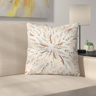 Feather Roll Throw Pillow