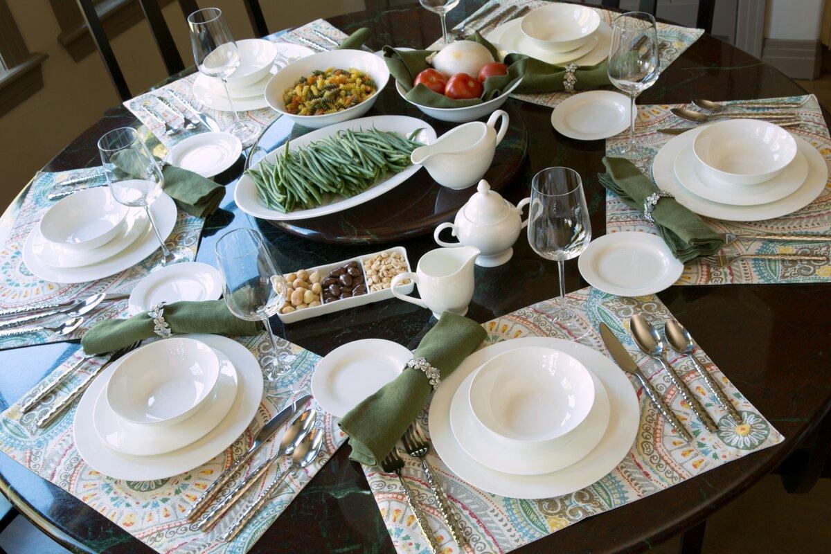 Maret Bone China 32 Piece Dinnerware Set Service for 6 & Darby Home Co Maret Bone China 32 Piece Dinnerware Set Service for ...