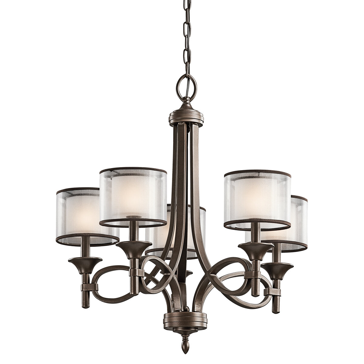 Darby home co lightle 5 light drum chandelier reviews wayfair