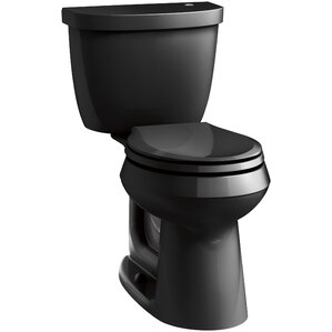 cimarron 2 piece touchless toilet with aquapiston flushing technology