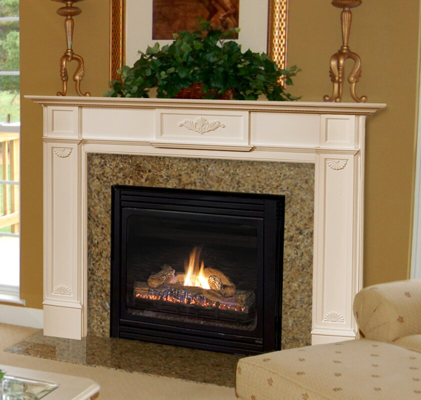 The monticello fireplace mantel surround