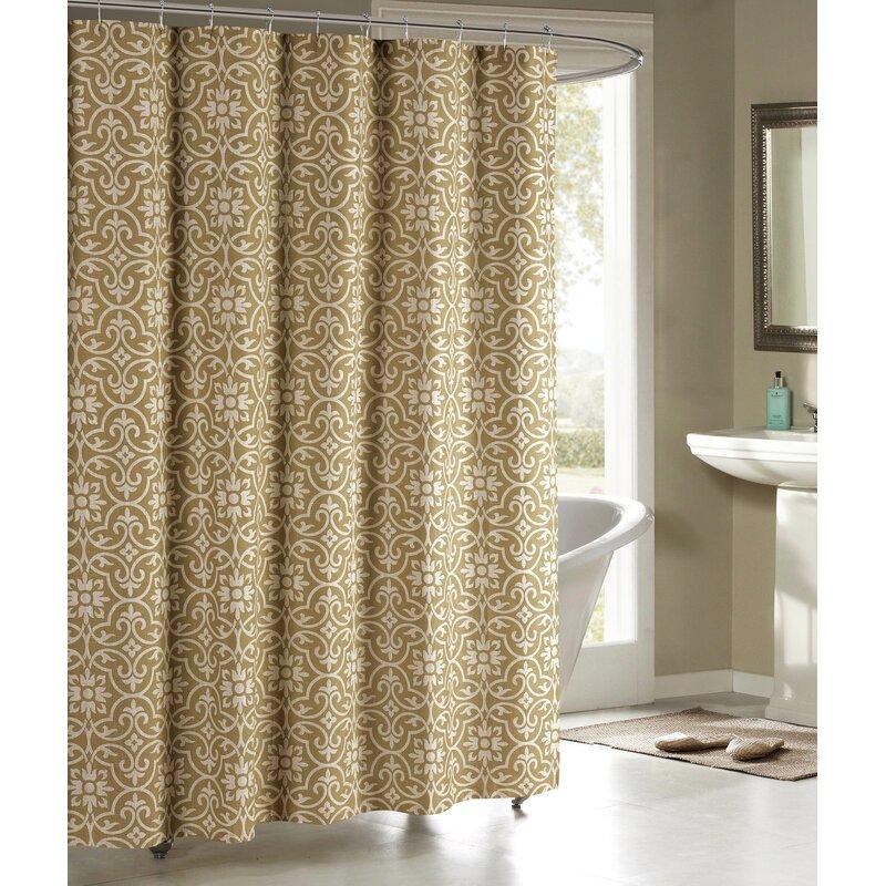 Bath Studio Allure Shower Curtain & Reviews   Wayfair