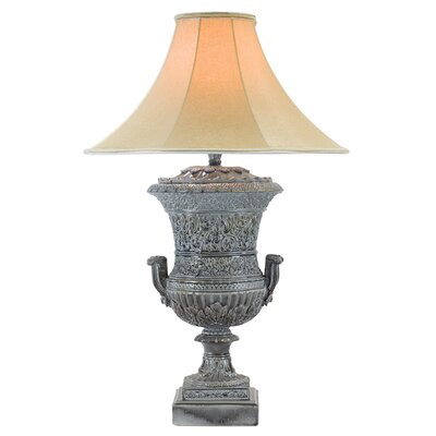 "34"" Table Lamp Anthony California Base Color: Slate"