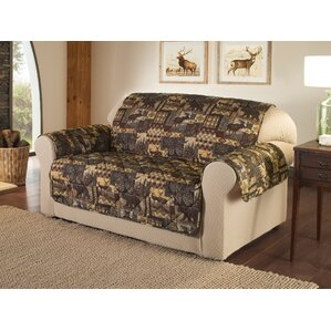 Lodge Box Cushion Loveseat Slipcover by Innovative Textile Solutions