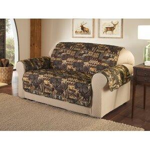 Lodge Box Cushion Loveseat Sli..