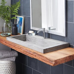 Granite & Stone Bathroom Sinks You'll Love | Wayfair